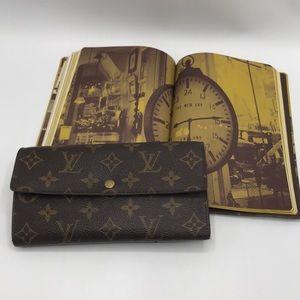 Authentic Louis Vuitton Portefeuille Long Wallet